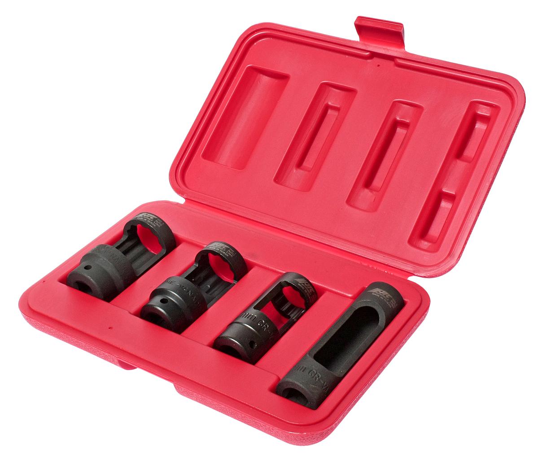 Набор головок для снятия датчика кислорода 4 предмета в кейсе JTC