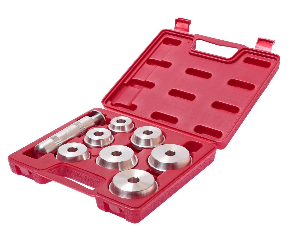 Набор инструментов для установки подшипников и сальников 8 предметов в кейсе JTC