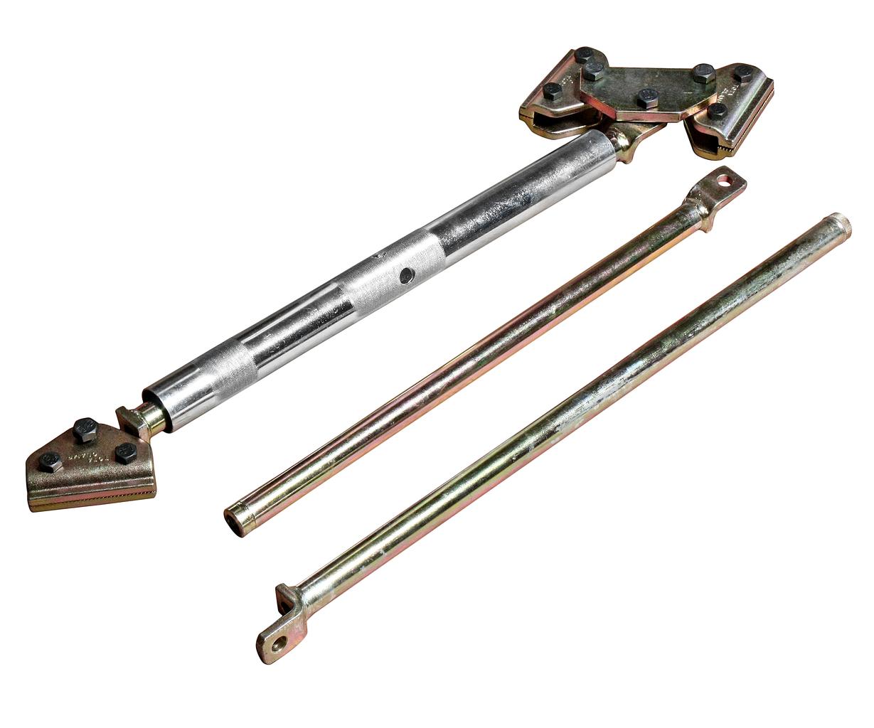 Распорка для проемов кузова универсальная с поворотными захватами и планками 780-1850мм JTC