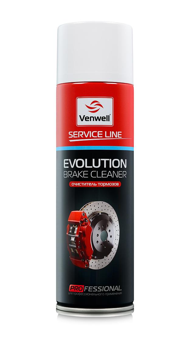 Venwell Очиститель тормозов EVOLUTION Brake Cleaner 500 мл (аэрозоль)
