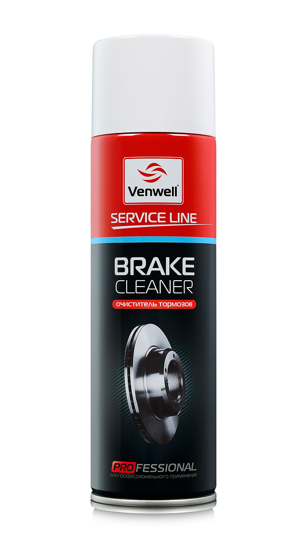 Venwell Очиститель тормозов Brake Cleaner 500 мл (аэрозоль)