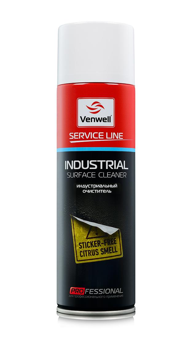 Venwell Индустриальный очиститель INDUSTRIAL Surface Cleaner 500 мл (аэрозоль)