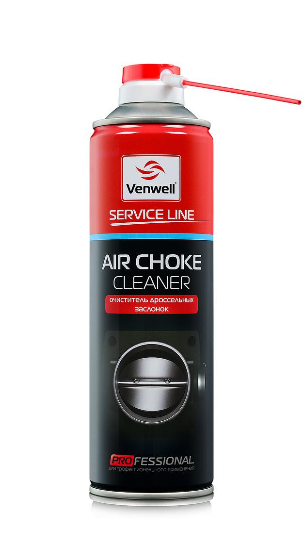 Venwell Очиститель дроссельных заслонок Air Choke Cleaner 500 мл (аэрозоль)