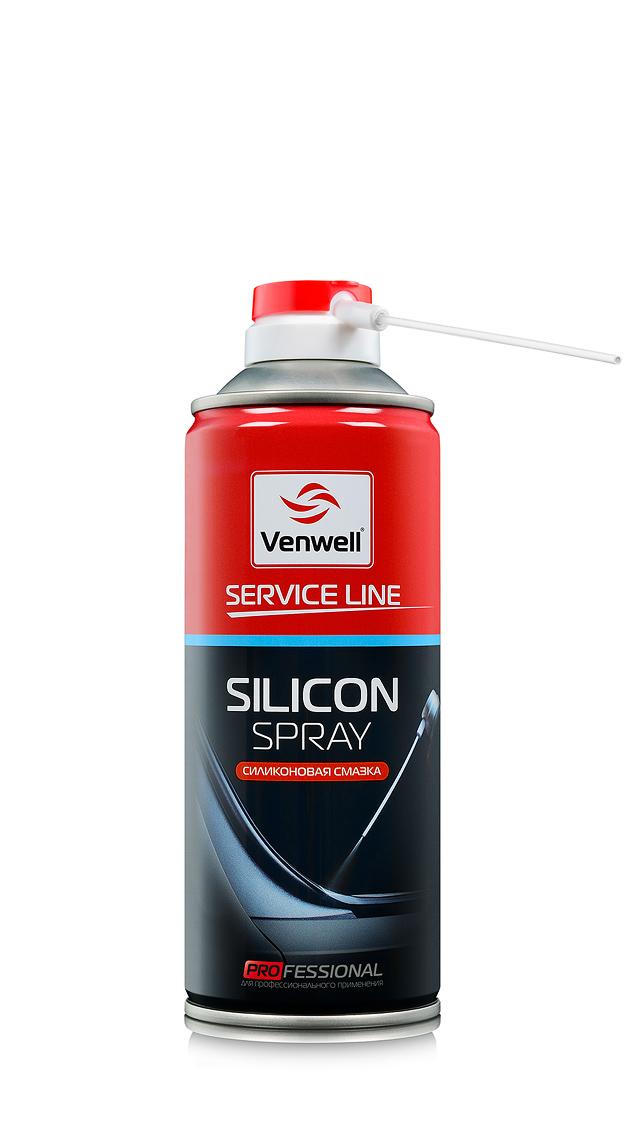 Venwell Силиконовая смазка Silicon Spray 500 мл (аэрозоль)