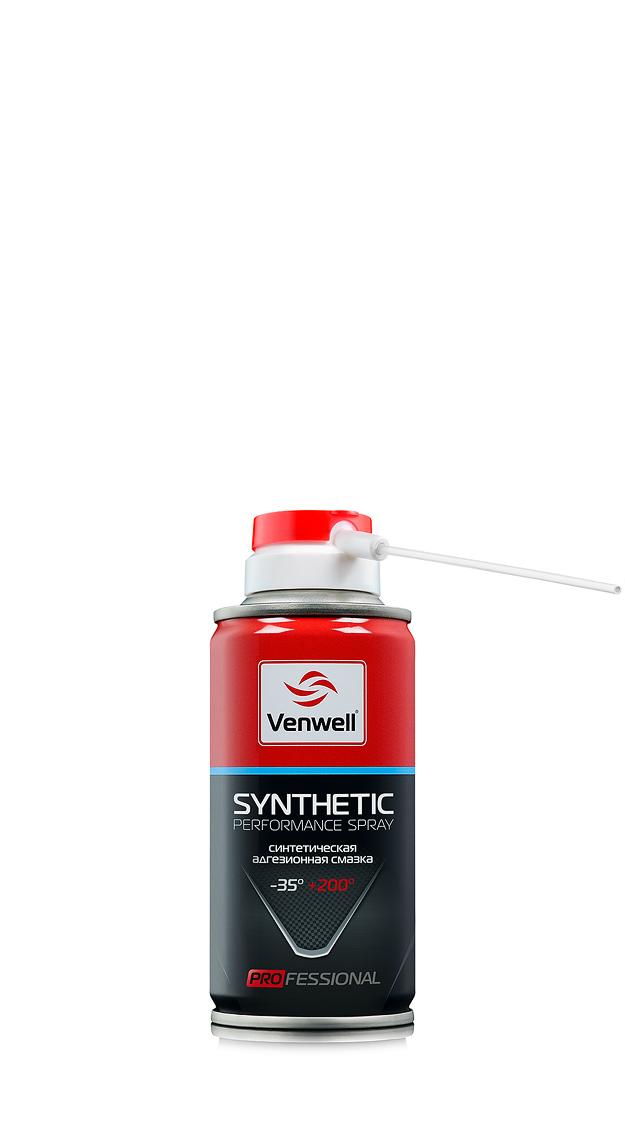 Venwell Синтетическая адгезионная смазка Synthetic Performance Spray 210 мл (аэрозоль)