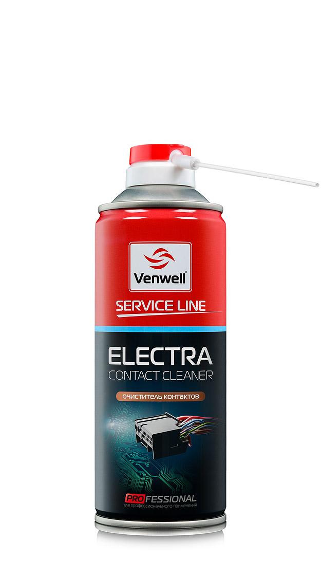 Venwell Очиститель контактов Electra 400 мл (аэрозоль)