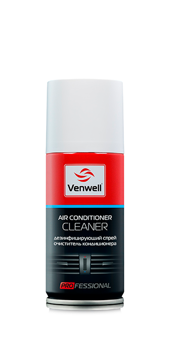 Venwell Дезинфицирующий очиститель кондиционера Air Conditioner Cleaner 150 мл (аэрозоль)