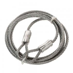 Канаты стальные, верёвки